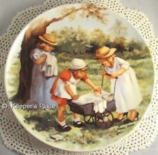 Knowles Office Hours 2nd Issue Friends I Remember Victorian Nurse Plate Mint