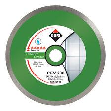 RUBI CEV 250mm DIAMOND BLADE ELECTRIC CUTTER Wet SEGA - 30949