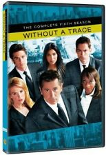 Without A Trace: Season 5 (2012, DVD NUEVO) DVD-R (REGION 0)