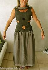 robe corset soie laine MARITHE FRANCOIS GIRBAUD T 38 NEUVE ÉTIQUETTE