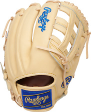 """Rawlings Heart of the Hide PRORKB17 12.25"""" Baseball Glove Right Hand Throw"""