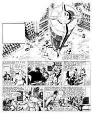 Original Artwork for Jet Ace Logan by John Gillatt - Tiger 2nd April 1960