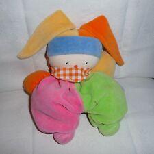 Doudou Lutin Corolle - Bonnet Orange Jaune