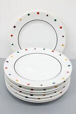 "Sasaki Japan Fine China Elements Lot of 8 Salad Plates 7.75"""