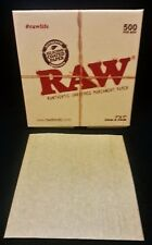"1 Box 500 Raw Silicone Coated 5""x5"" Pre Cut Parchment Paper Squares Free Ship"