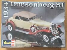 Vintage 1934 Duesenberg SJ Model Kit From Revell, 1/48 1977