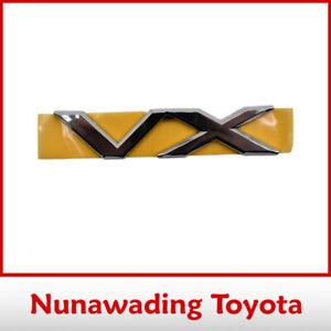 Genuine Toyota Back Door Name Plate for Land Cruiser 120 Prado 2002-2010