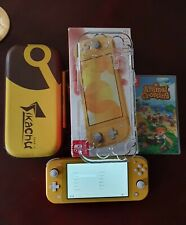 Nintendo switch lite console animal crossing