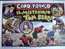 Avventure Cino e Franco - Il mistero di Tom Beros 1974 Anastatica Nerbini [C21C]