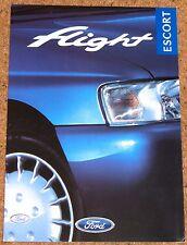 1997 FORD ESCORT FLIGHT Hatch Sal & Estate Sales Brochure - Excellent Condition
