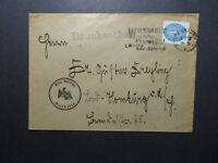 Germany 1932 Wiesbaden Cover w/ Event Cancel - Z12170