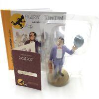 Collection Officielle Figurine Tintin N11 Seraphin LIVRET PASSEPORT coque plasti