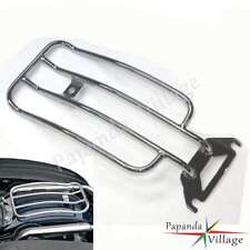 Radii Chrome Solo Seat Luggage Rear Fender Rack Harley Road King FLHR Bagger