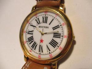 Mockba orologio al quarzo soviet
