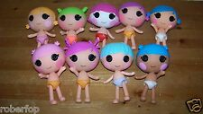 Lalaloopsy Littles Minis Sisters Brother 9 Dolls Lot 0229