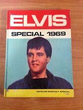 Hardcover Book Elvis Presley Special 1969