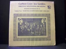 CARLTON COON - JOE SANDERS: Original Nighthawk Orchestra Vol. Two LP BR-145