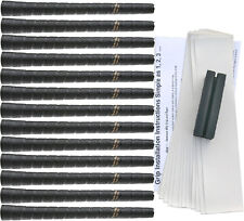 Tacki-Mac Tour Pro Midsize Black Golf Grip Kit (13 Grips, Tape, Clamp)