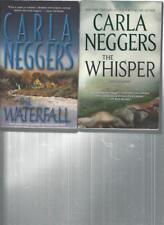 CARLA NEGGERS - THE WATERFALL - A LOT OF 2 BOOKS