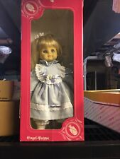 "VTG Angel Engel-Buppe  German 18"" Soft Body Blond Blue Eye Real Hair New In Box"