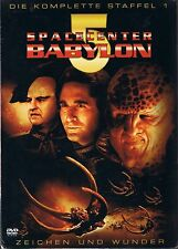 Spacecenter Babylon 5  Staffel 1 6 DVD BOX  NEU OVP Sealed