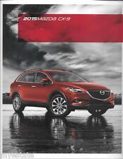 2015 15 Mazda CX9   Original sales brochure MINT
