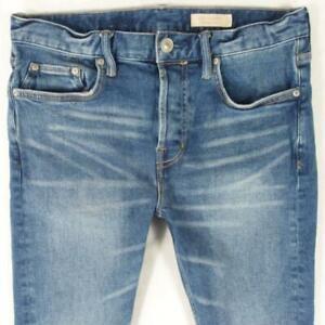 Mens AllSaints CIGARETTE Slim Skinny Blue Jeans W30 L32