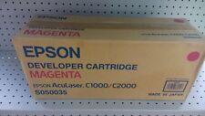 Toner EPSON S050035 originale magenta per Aculaser C1000/C2000 6000 pag.