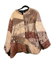 Maggie Barnes Ladies 4X Long Sleeve Jacket Vintage Plastic Buttons