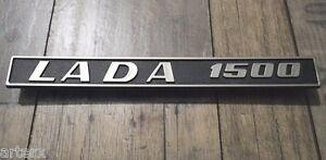Lada 1500 Rear Trim Badge Emblem Plastic 21061-8212200