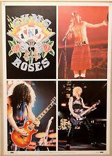 (PRL) 1992 GUNS N' ROSES MUSIC HARD ROCK SINGERS MUSICA POSTER ART PRINT COLLECT