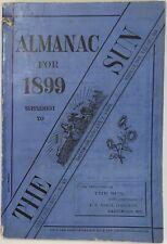 Baltimore Sun Maryland Almanac 1899