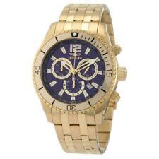 Invicta 0623 мужская специальность II спорт синий циферблат позолоченные часы со стальным браслетом