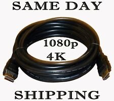 STEREN 6FT HIGH SPEED HDMI PREMIUM CABLE BLURAY 3D PS3 PS4 XBOX HDTV 1080P 4K