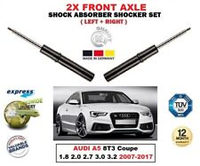 FOR AUDI A5 1.8 2.0 2.7 3.0 3.2 2007-2017 2X FRONT LEFT RIGHT SHOCK ABSORBER SET