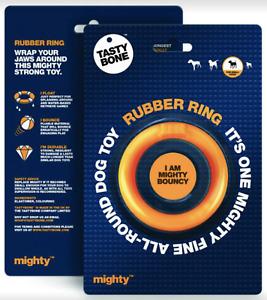 Tasty Bone™ 🍖 Rubber Ring 🐕 Dog Chew Toy 🐶 Small & Medium Dogs
