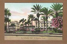 St Augustine,Fl Florida Rockingham Hotel, Albertype hand colored