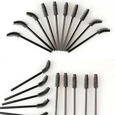 Free Shipping 50 PCS Disposable Eyelash Mini Brush Mascara Wands Applicator