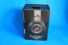 Monster Octagon UFC Edition Headband Headphones - Black Over the Ear Complete