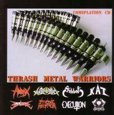 THRASH METAL WARRIORS CD 8 trks FACTORY SEALED NEW 2007 Black Devil Deep Six USA