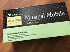 Sweet Jojo Designs Musical Mobile fits most baby cribs for 0 to 5 months