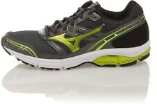 MIZUNO WAVE IMPETUS MENS RUNNING SHOES - GREY / LIME - SIZE 8.5 - BNIB