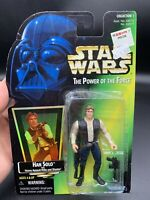 STAR WARS POWER OF THE FORCE COLLECTION1 HOLO HAN SOLO W HEAVY ASSULT RIFFLE