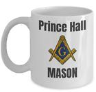 Freemason coffee mug - Prince Hall Mason PHA - Masonic accessories gift 357