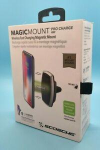 Scosche MagicMount Pro Qi Charge Vent Mount - Black