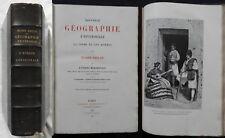 J] Nouvelle Géographie Universelle Elisée Reclus (EUROPE MÉRIDIONALE) 1887