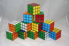 Zauberwürfel 80er Jahre Party Feten Kultartikel Deko Puzzle Würfel 12 Stück