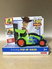 TOY STORY 4 RC AND WOODY POP-UP RACER
