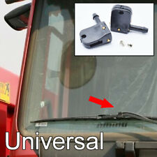 Pair Universal Washer Nozzle Jet Spray Clip Under Wiper Arm For Heavy Truck