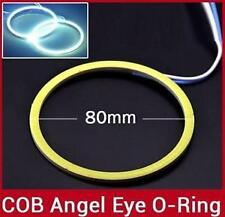2X80mm LED COB Angel Eye Ring Car Light Super Bright Waterproof White for FIAD
